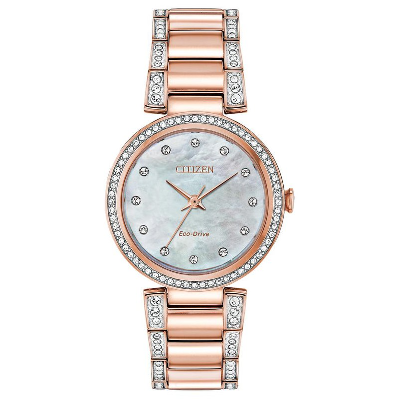 Citizen Ladies Eco-Drive Watch- Silhouette Crystal