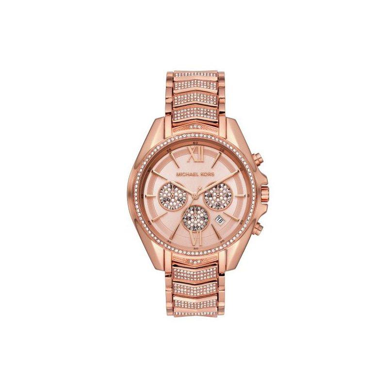 Michael Kors Whitney Pavé Rose Gold-Tone Watch