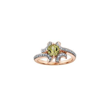 Csarite & Diamond Ring