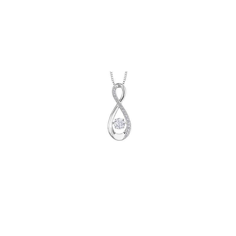 Diamond Days Pulse Infinity Diamond Pendant