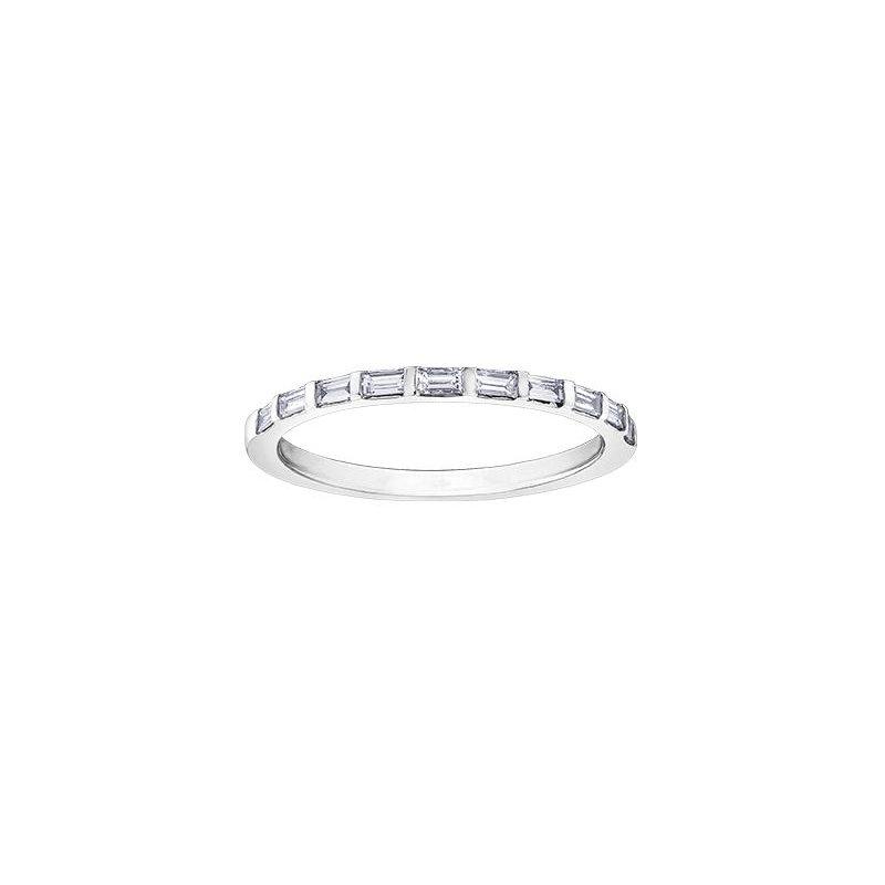 Diamond Days White Gold Baguette Diamond Ring