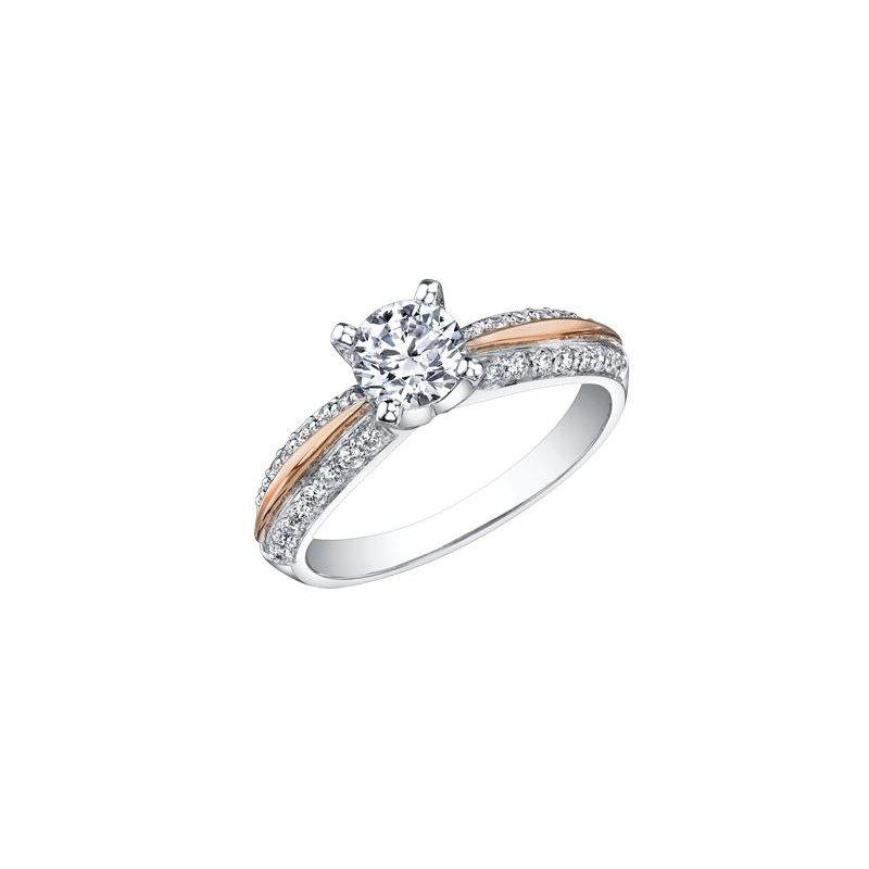 Maple Leaf Diamonds Platinum Engagement Ring