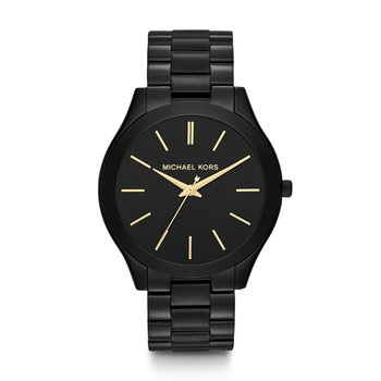 Slim Runway Black-Tone Watch