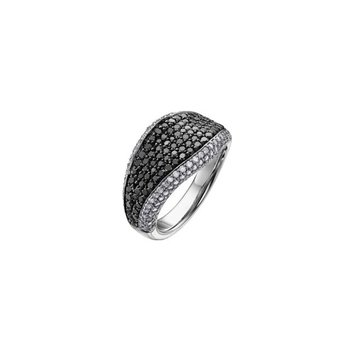 Black & White Diamond Dinner Ring