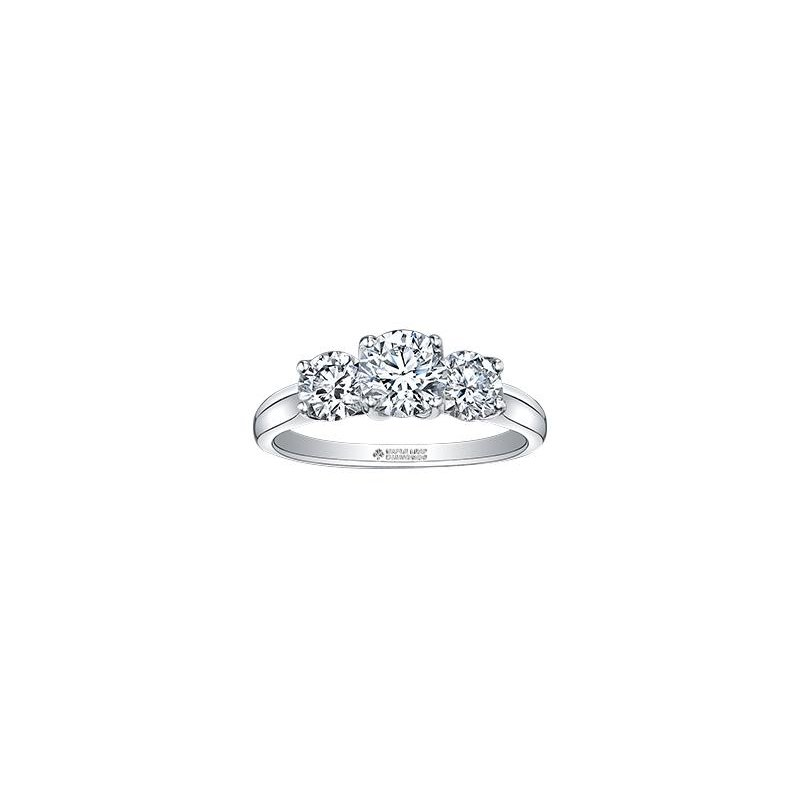 Maple Leaf Diamonds 1.00CTW Three Stone Ring