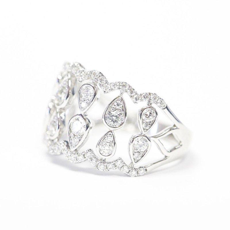 S.KASHI Diamond Anniversary Ring