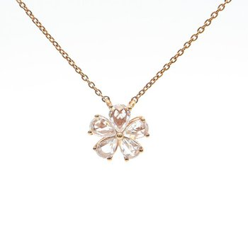 Rose-Cut Diamond Necklace