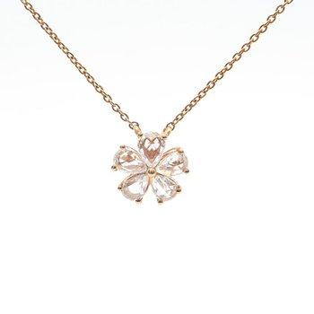 Rose-Cut Diamond Necklace