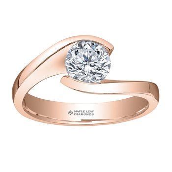 0.51CT Solitaire Diamond Ring