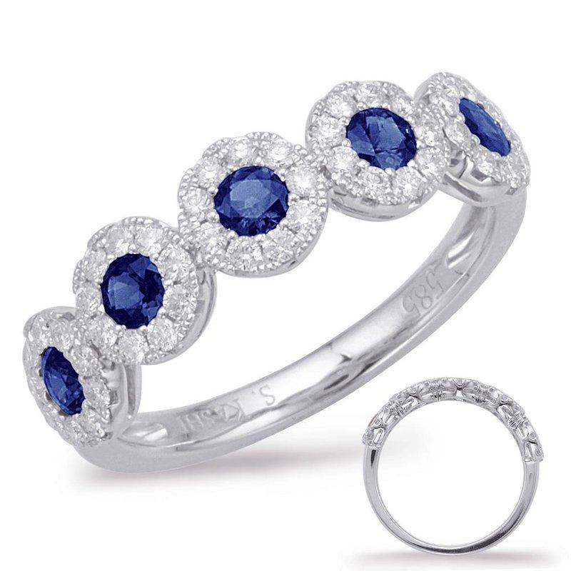 S.KASHI Sapphire & Diamond Ring