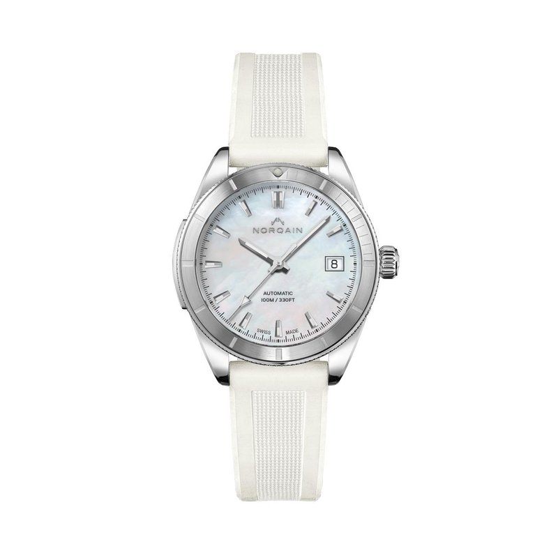 NORQAIN Adventure 37mm Automatic Mother of Pearl