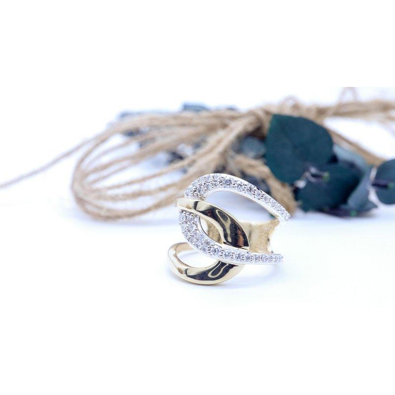 Diamond Days Two-Tone Dinner Ring