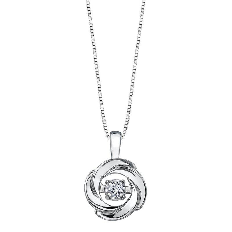 Forever Jewellery Pulse Diamond Pendant