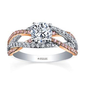 Maple Leaf Diamonds Engagement Ring ML266