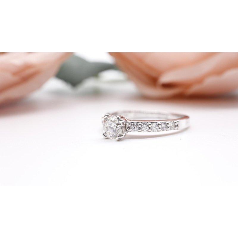 Diamond Days 0.50CT Round Diamond Engagement Ring