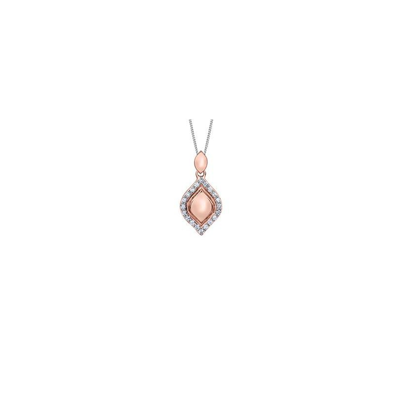 Diamond Days Rose Gold Diamond Pendant