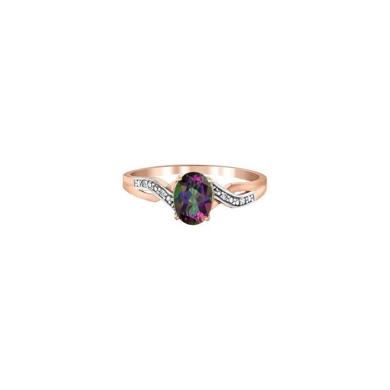 Diamond Days Mystic Topaz Ring
