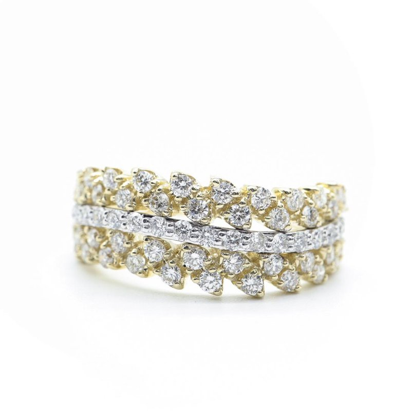 Diamond Days Yellow & White Gold Diamond Ring