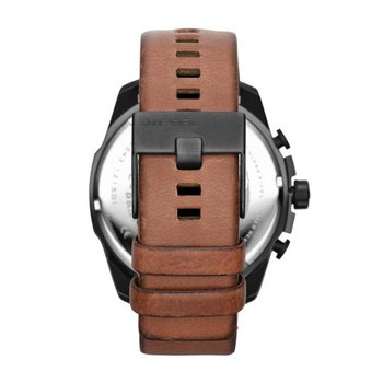 Mega Chief Brown Leather Strap Watch