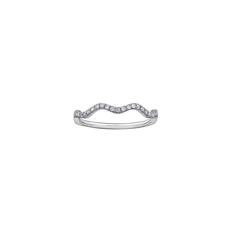 Diamond Days Diamond Wave Ring