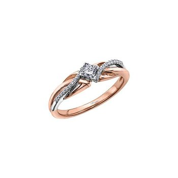 Princess-Cut Diamond Ring