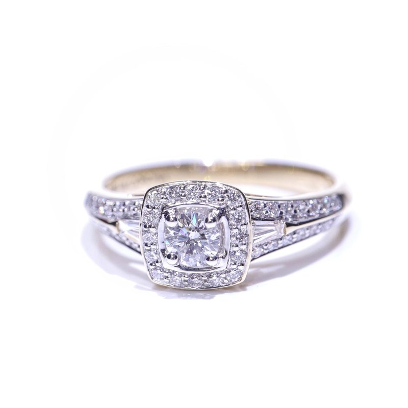 Diamond Days Diamond Halo Engagement Ring