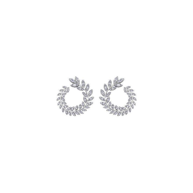 Diamond Days Nature-Inspired Diamond Earrings