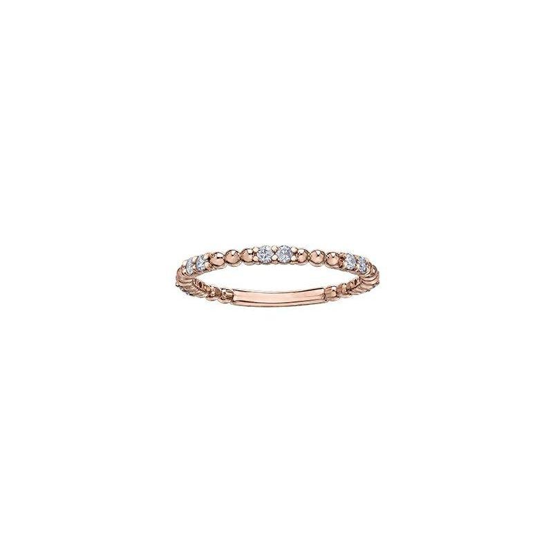Diamond Days Rose Gold Diamond Ring