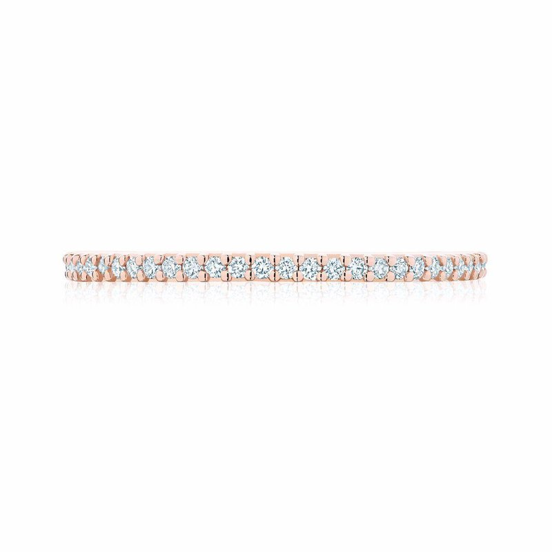 BIRKS Stackable Rose Gold and Diamond Ring