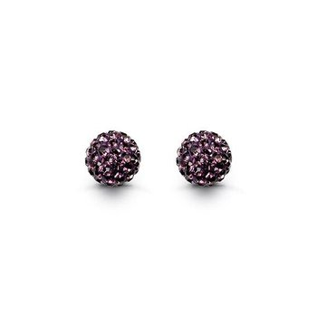 10K Firecracker Studs: Purple