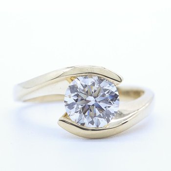 1.00CT Solitaire Diamond Ring