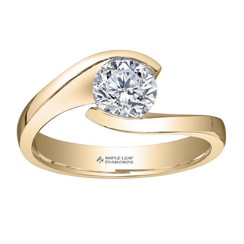 Maple Leaf Diamonds 1.00CT Solitaire Diamond Ring