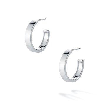 BIRKS ESSENTIALS 20mm Bold Sterling Silver Hoop Earrings