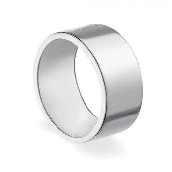 BIRKS ESSENTIALS 10mm Sterling Silver Square Band Ring