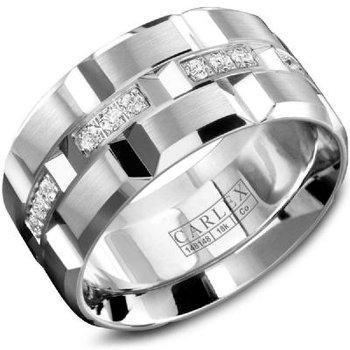 18K Men's Diamond Ring