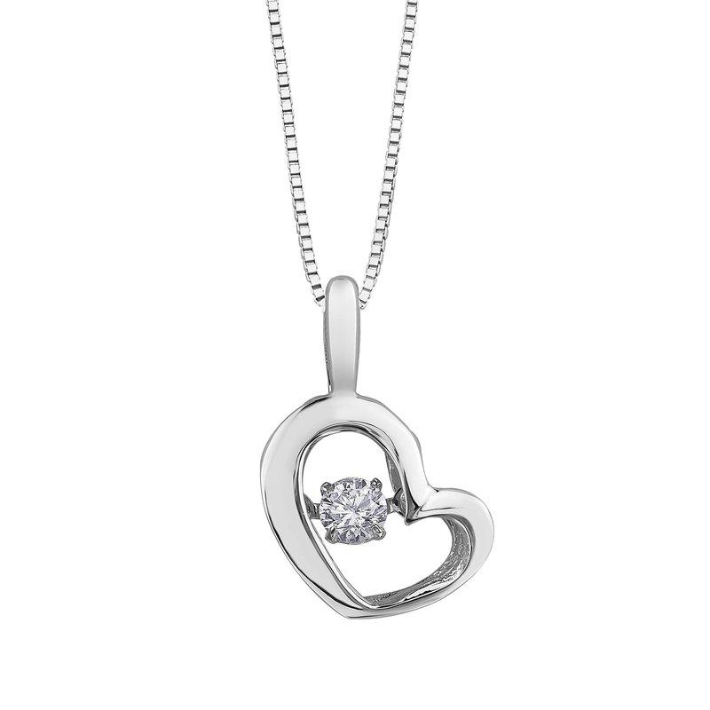 Diamond Days Pulse Heart Pendant