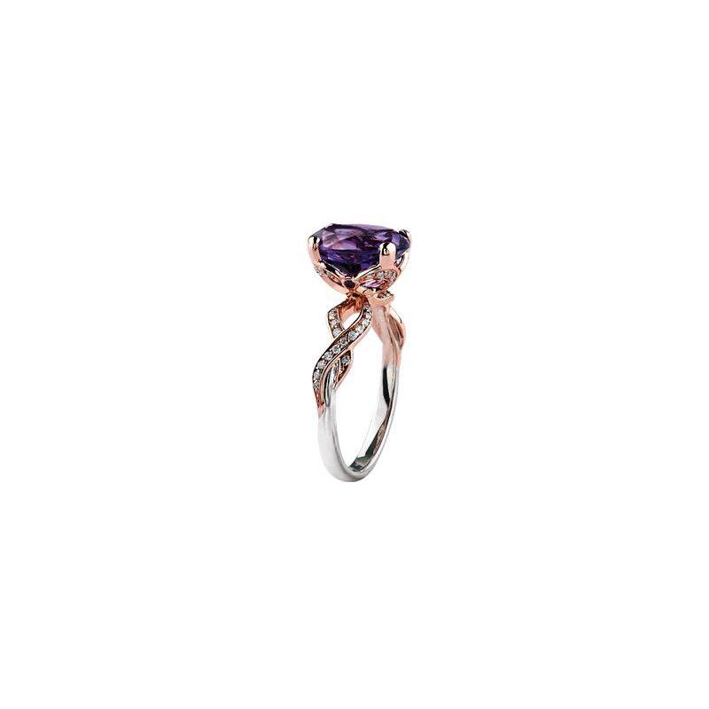 Diamond Days Amethyst Ring