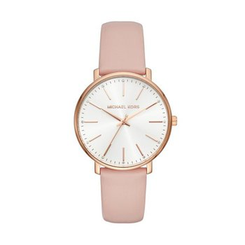Pyper Leather Strap Watch