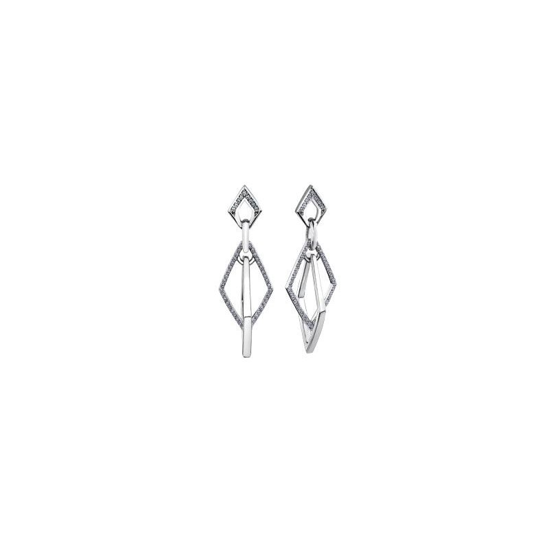Diamond Days Diamond Dangle Earrings
