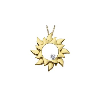 Sun Shaped Pendant