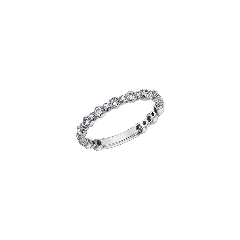 Diamond Days White Gold Stacking Diamond Ring