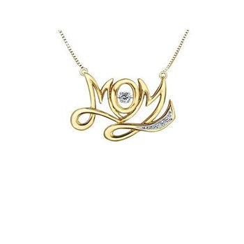PULSE Mom Diamond Pendant