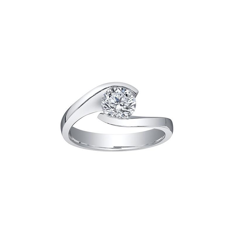 Maple Leaf Diamonds 0.56CT Canadian Solitaire Ring