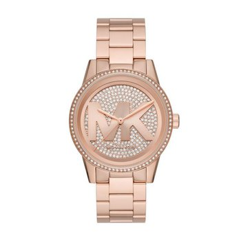 Ritz Pavé Rose Gold-Tone Watch