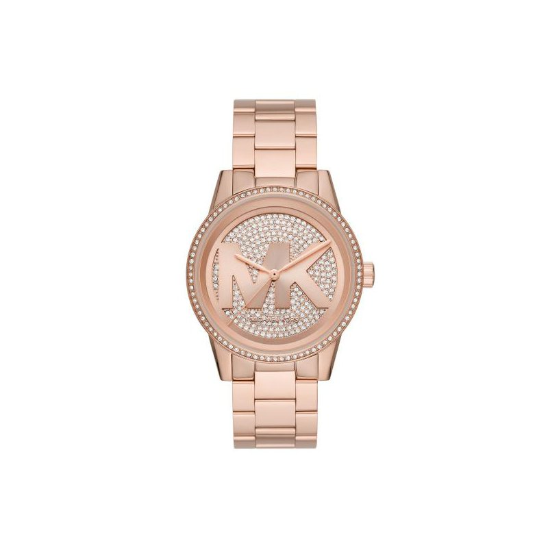 Michael Kors Ritz Pavé Rose Gold-Tone Watch