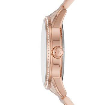 Ritz Pavé Rose Gold-Tone Watch