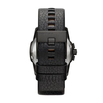 Master Chief Black Leather Strap Watch