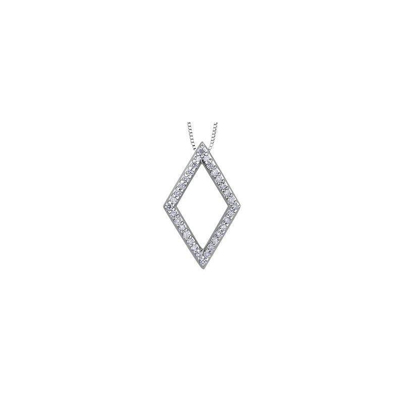 Diamond Days Diamond- Shaped Pendant