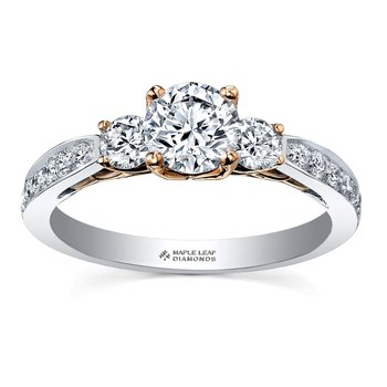 Eternal Flames Engagement Ring