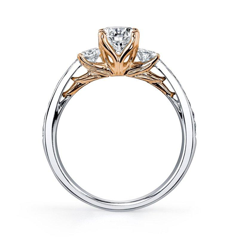 Maple Leaf Diamonds Eternal Flames Engagement Ring